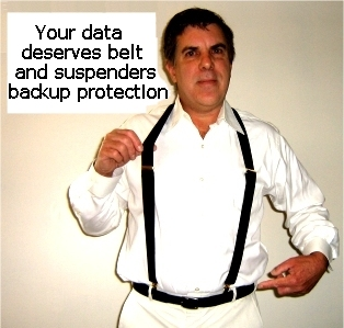 Belt and suspenders